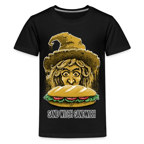 Sand Witch Sandwich V1 - Teenage Premium T-Shirt