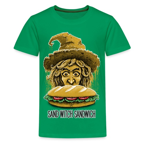 Sand Witch Sandwich V1 - Teenage Premium T-Shirt