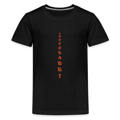 chocolate only - Teenage Premium T-Shirt