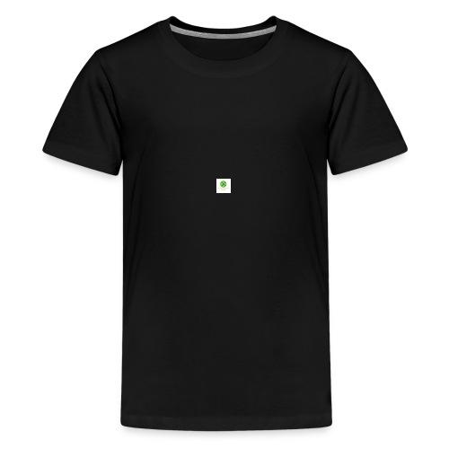 Min loogo - Premium T-skjorte for tenåringer