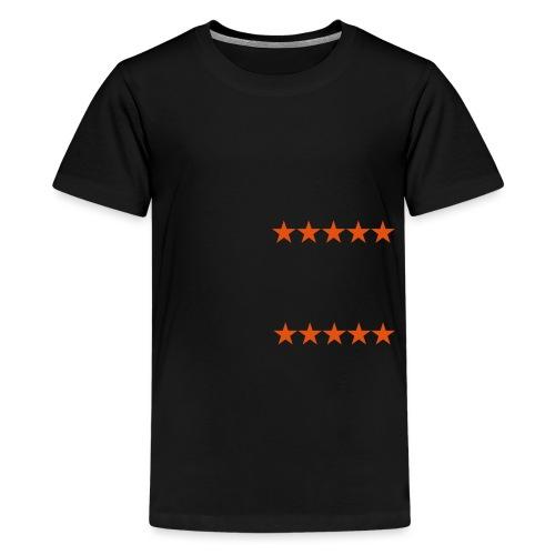 ratingstars - Teinien premium t-paita