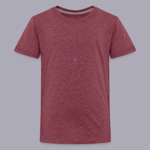 Landryn Design - Pink rose - Teenage Premium T-Shirt