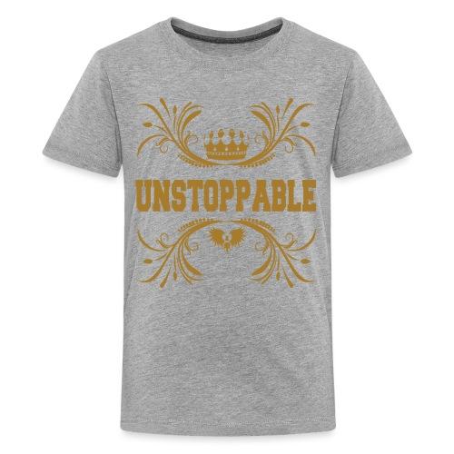 Unstappable nicht aufzuhalten kein halten - Teenager Premium T-Shirt