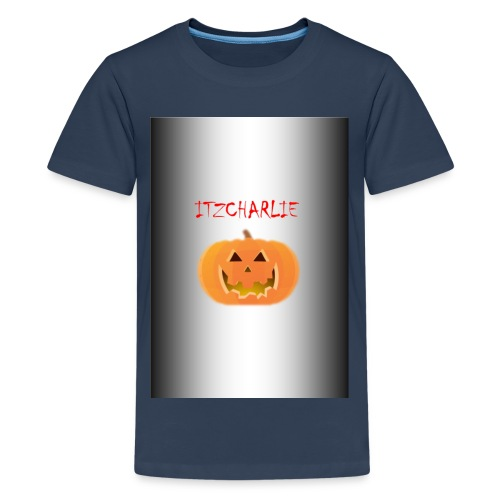 itzcharlie Halloween merch - Teenage Premium T-Shirt