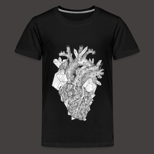 Le Coeur de Cristal - T-shirt Premium Ado