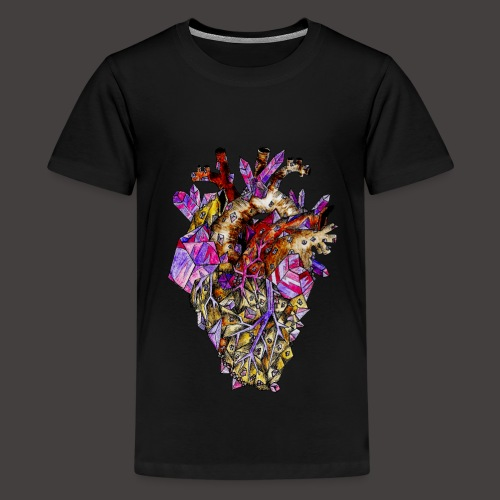 Le Coeur de Cristal Creepy - T-shirt Premium Ado