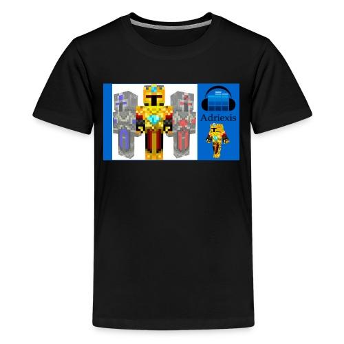 Untitled design - Premium T-skjorte for tenåringer