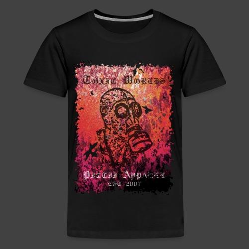 TOXIC WORLDS - 2B - Teenage Premium T-Shirt