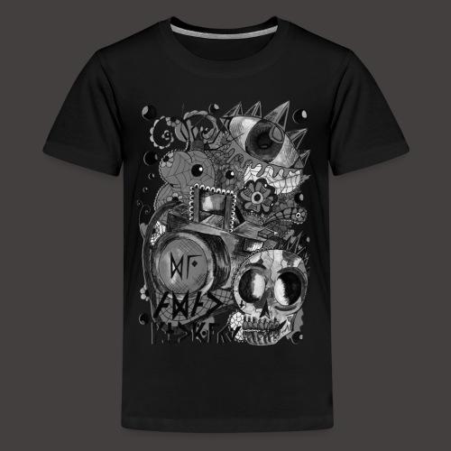 AGAC Picture Noir et Blanc - T-shirt Premium Ado