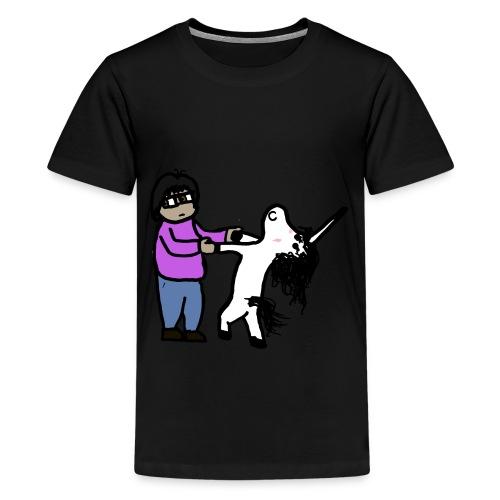 Unicorn Veñ - Maglietta Premium per ragazzi
