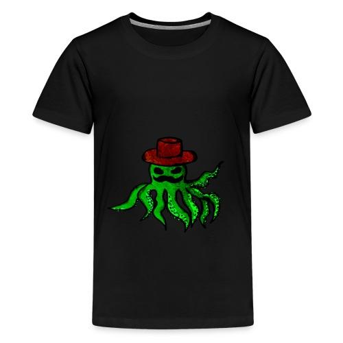 Polpo con cappello - Maglietta Premium per ragazzi