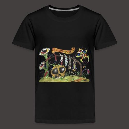 De La Gunille Au Gupillon - T-shirt Premium Ado