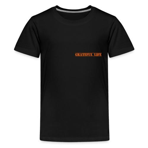 GratefulLife TextLogo free - Teenager Premium T-Shirt