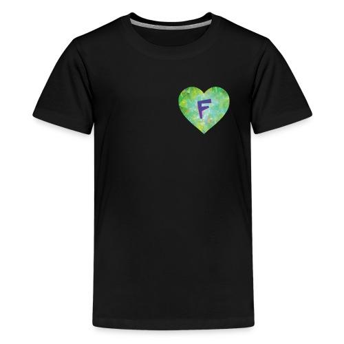 F follows fabulous family fun facts furiously - Teenage Premium T-Shirt