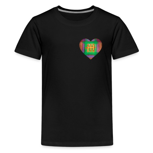 HH with a Heart - Teenage Premium T-Shirt
