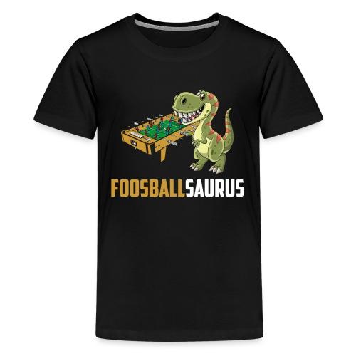 Tischfußball Kicker Krökeln - Teenager Premium T-Shirt