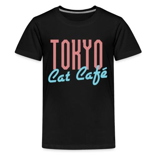 Tokyo Katzen Café Hobby Katze Haustiere - Teenager Premium T-Shirt