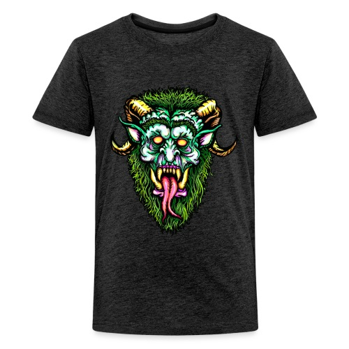 Krampus Design online - Teenager Premium T-Shirt