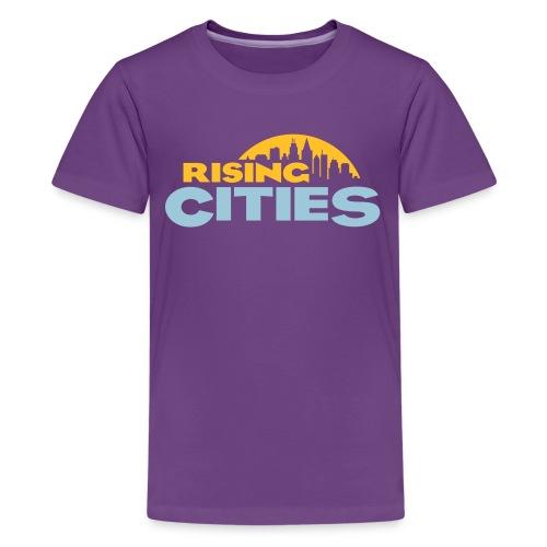 Rising Cities Logo stylized - Teenager Premium T-Shirt