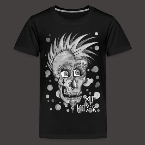 Autoportrait Noir et Blanc - T-shirt Premium Ado