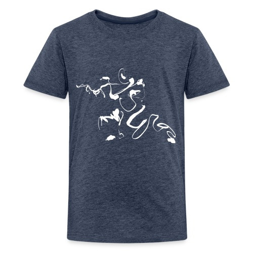 Kungfu - Deepstance Kung-fu figure - Teenage Premium T-Shirt