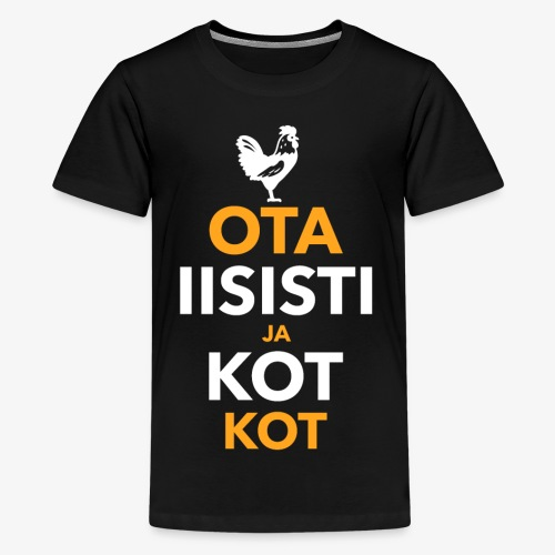 Iisisti Kot Kot - Teinien premium t-paita
