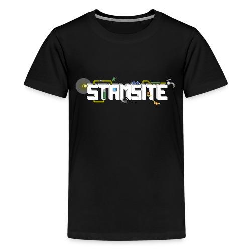 STAMSITE Logo - Premium-T-shirt tonåring