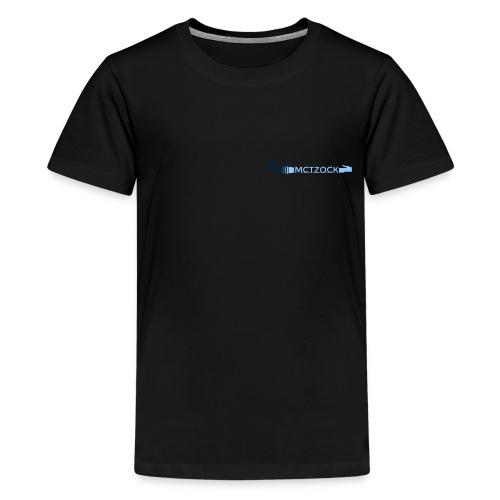 Logo schlicht - Teenager Premium T-Shirt