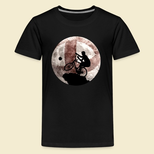 Radball | Cycle Ball Moon - Teenager Premium T-Shirt
