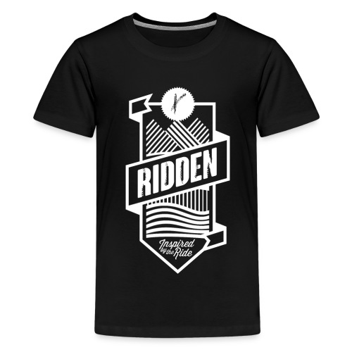 Spreadshirt Ridden crest - Teenage Premium T-Shirt