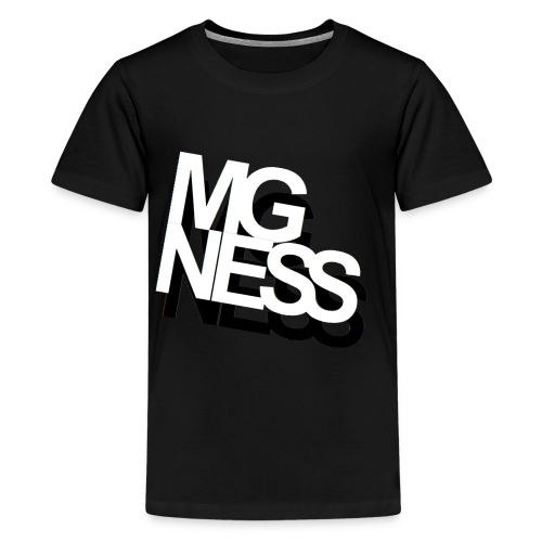mgness double - Teenager Premium T-Shirt