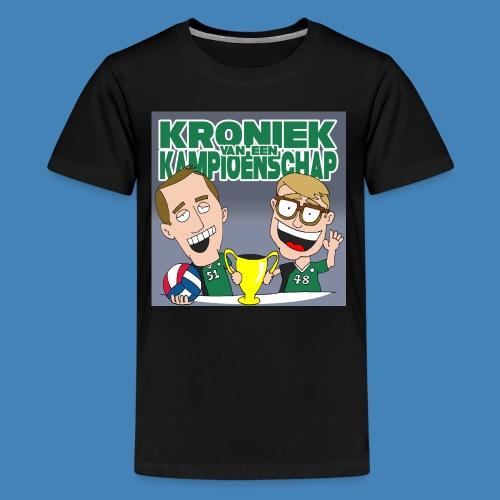 Kroniek van een Kampioenschap - Teenager Premium T-shirt