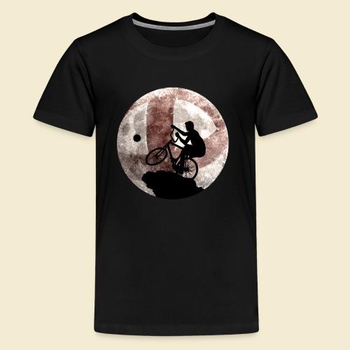 Radball | Cycle Ball Moon - Teenager Premium T-Shirt