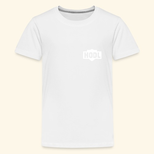 HODL TO THE MOON - Teinien premium t-paita