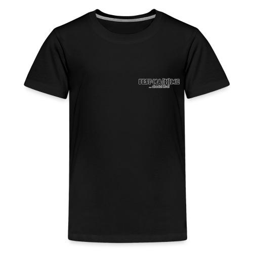 FestNahme Brust Klein - Teenager Premium T-Shirt