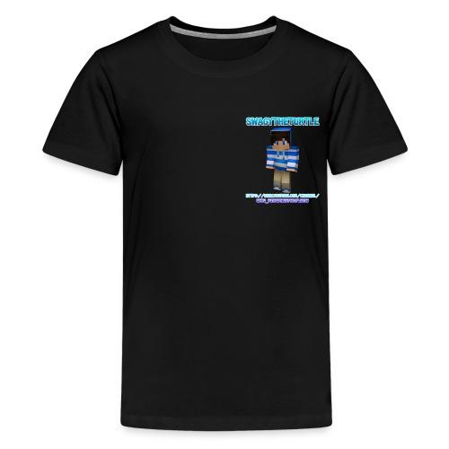 SwagyTheTurtle Combination png - Teenage Premium T-Shirt