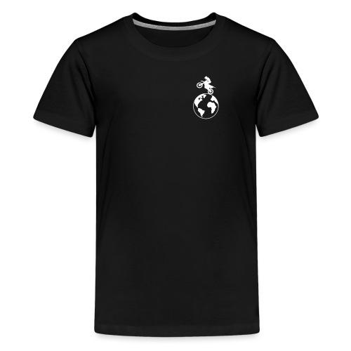 LOGO vorne klein bearbeiet - Teenager Premium T-Shirt