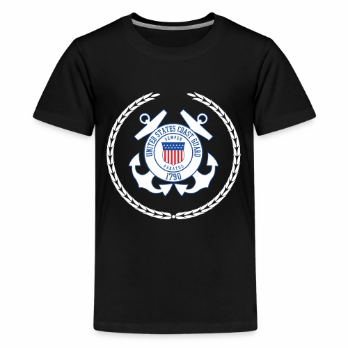 Coast Guard 1790 - Teenager Premium T-Shirt