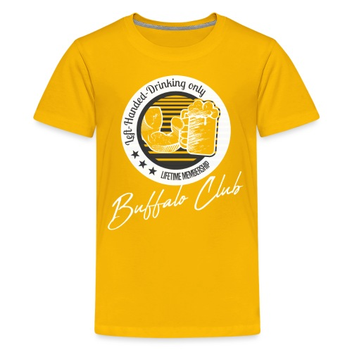 Buffalo Club Strong Arm - Teenage Premium T-Shirt
