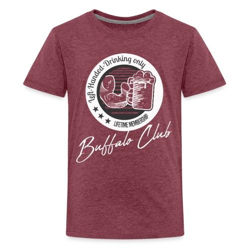 Buffalo Club Strong Arm - Teenage Premium T-Shirt