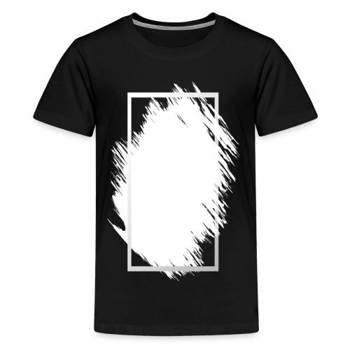 Grunge Rahmen fuer Deine Ideen 2 - Teenager Premium T-Shirt