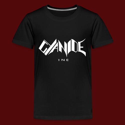 Logo Cyanide Inc - T-shirt Premium Ado