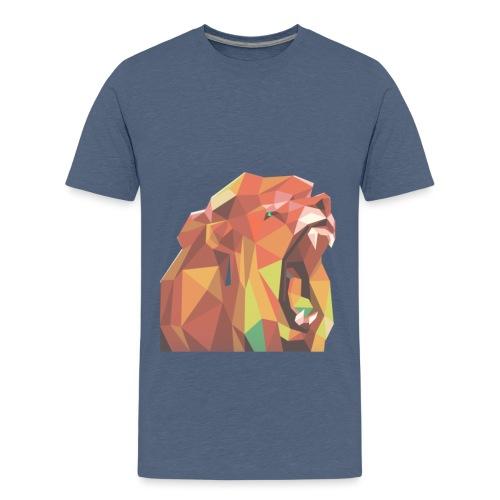 DCT LOGO ROAR - Teenage Premium T-Shirt