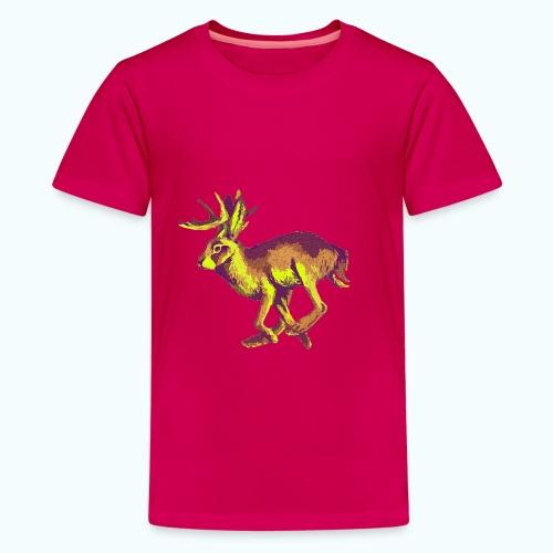 Fantasy Wolpertinger - Teenage Premium T-Shirt