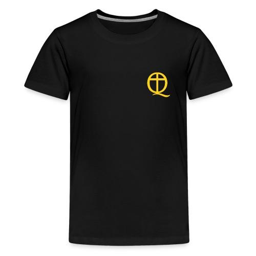 QC Gul - Premium-T-shirt tonåring