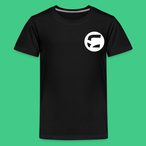 curedcircledesign1 png - Teenage Premium T-Shirt