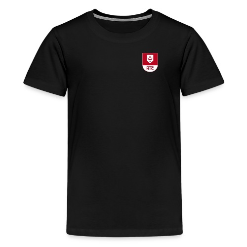 Hallescher Tennisclub Peißnitz e V zweifarbig - Teenager Premium T-Shirt