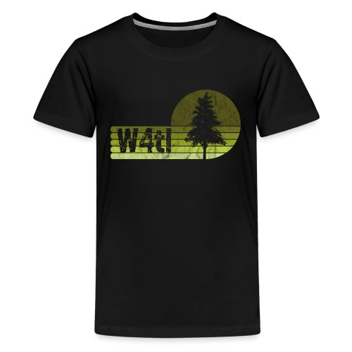 W4tl Vintage - Teenager Premium T-Shirt