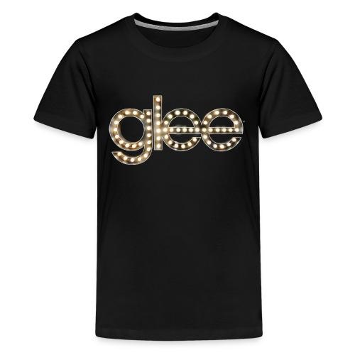Glee Logo Light Bulbs - Teenager Premium T-Shirt