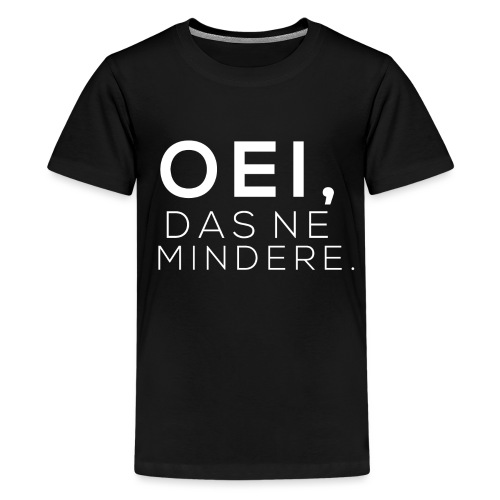 Oei wit png - Teenager Premium T-shirt